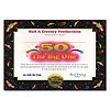 50 ITS THE BIG ONE CERTIFICATE (6/CS) PARTY SUPPLIES