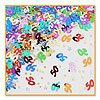50 AND STARS CONFETTI (6/CS) PARTY SUPPLIES