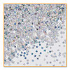 HOLOGRAPHIC SILVER STARS CONFETTI (6/CS) PARTY SUPPLIES