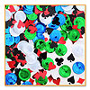 POKER PARTY CONFETTI (6/CS) PARTY SUPPLIES