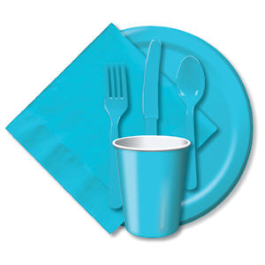BULK BERMUDA BLUE TABLEWARE