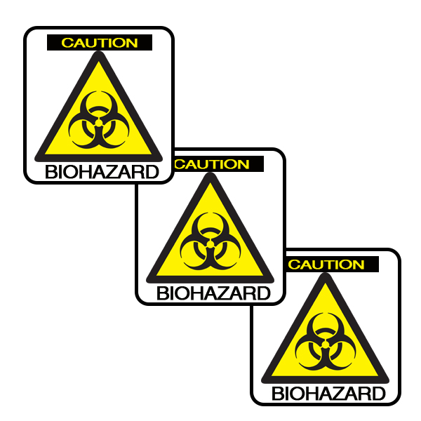 BIO-HAZARD DECO FETTI PARTY SUPPLIES