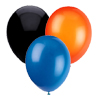 ORANGE BLACK BLUE BALLOON COMBO (SOLID) PARTY SUPPLIES
