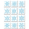 BLUE SNOWFLAKE COASTERS PARTY SUPPLIES