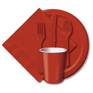 BULK BRICK TABLEWARE