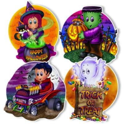 bulk halloween cutout decorations - Halloween Party Supplies