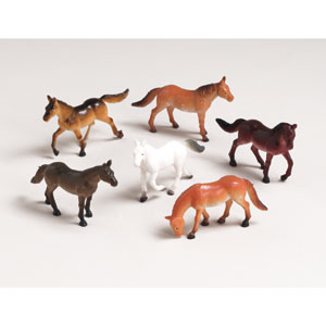MY HORSE PLASTIC HORSES PARTY FAVORS PARTY SUPPLIES