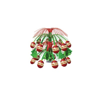 DISCONTINUED XMAS ORNAMENT CENTERPIECE PARTY SUPPLIES