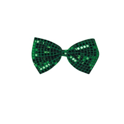 GLITZ 'N GLEAM BOW TIE GREEN (12/CASE) PARTY SUPPLIES