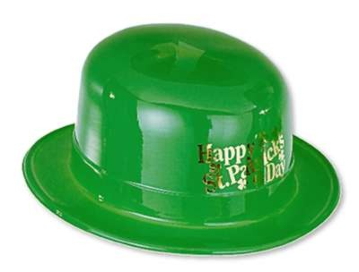 FOIL-STAMPED ST PATRICK'S DERBY (48/CS) PARTY SUPPLIES
