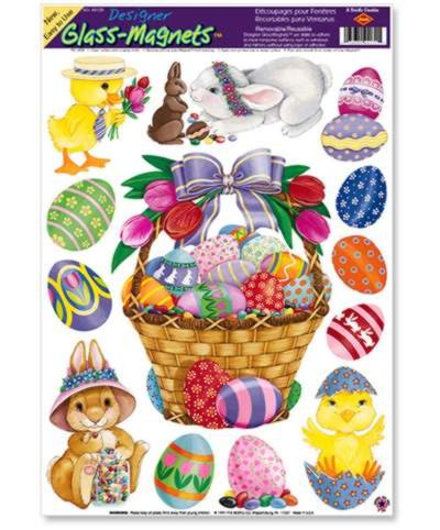 BULK EASTER GLASS MAGNETS