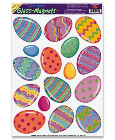 COLOR BRIGHT EGG GLASS-MAG 12IN.X17IN. S PARTY SUPPLIES