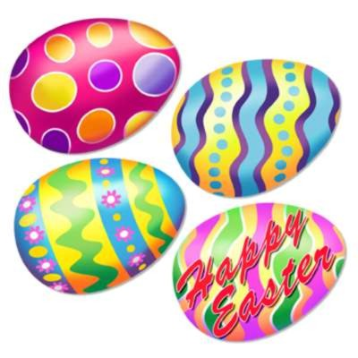 BULK EASTER CUTOUT DECORATIONS