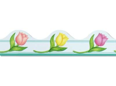 Click for larger picture of SPRING BORDER TRIM 37' TOTAL (12/PKG) PARTY SUPPLIES