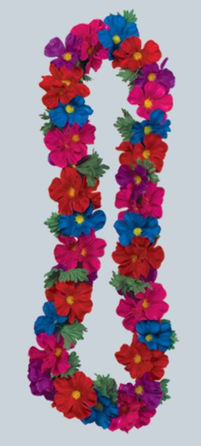 SILK 'N PETALS TROPICAL LEIS (12/CASE) PARTY SUPPLIES