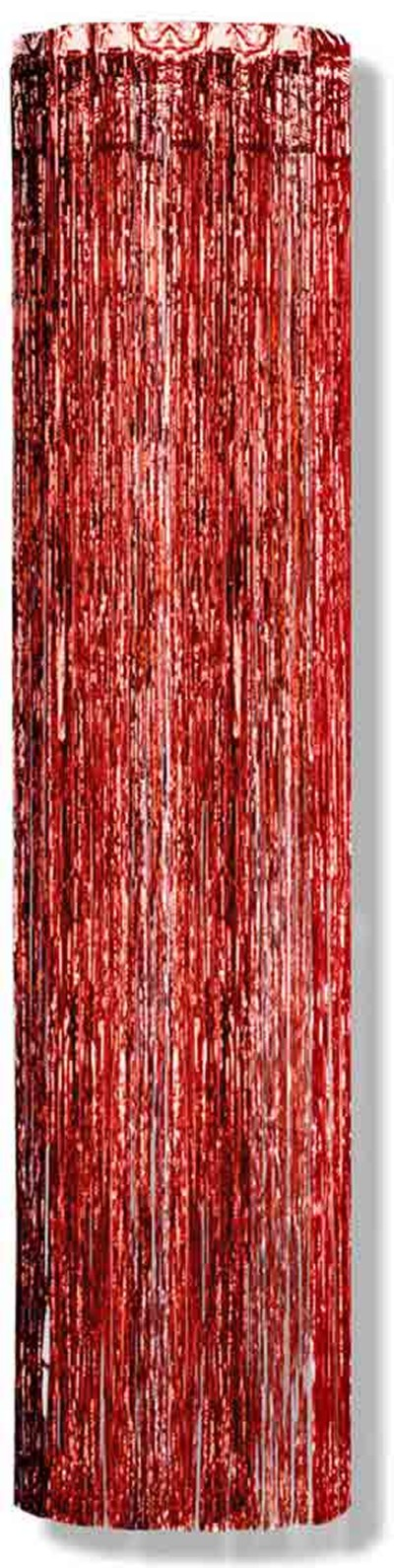 COLUMN RED GLEAM 'N  8'X1' (6/CS) PARTY SUPPLIES