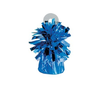 MYLAR BALLOON WEIGHT BLUE PARTY SUPPLIES