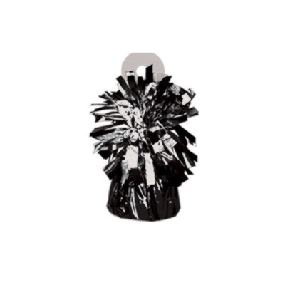 MYLAR BALLOON WEIGHT BLACK PARTY SUPPLIES
