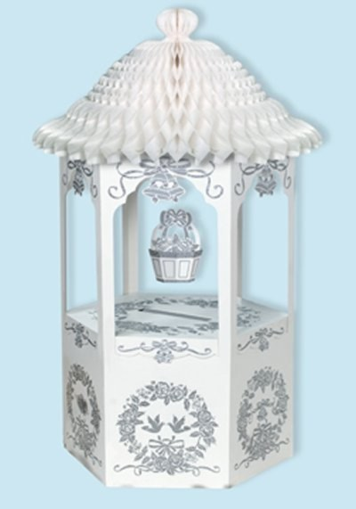 WISHING WELL W/TISSUE TOP CARD-GIFT BOX PARTY SUPPLIES
