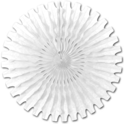 TISSUE FAN WHITE 25IN. PARTY SUPPLIES