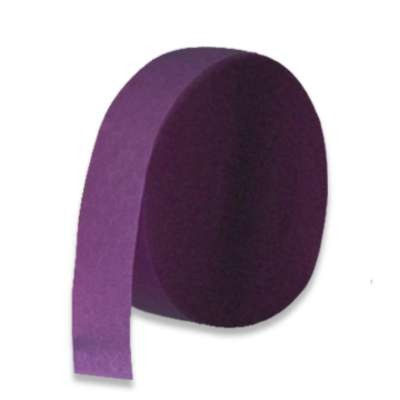 CREPE STREAMER PURPLE 85' PARTY SUPPLIES