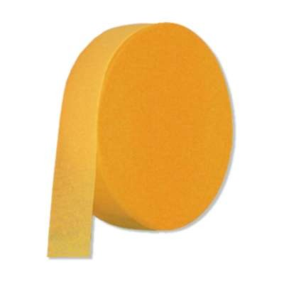 CREPE STREAMER GOLDEN-YELLOW 50 PARTY SUPPLIES