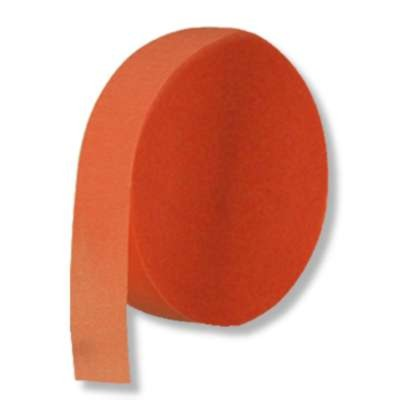 CREPE STREAMER ORANGE 500' PARTY SUPPLIES