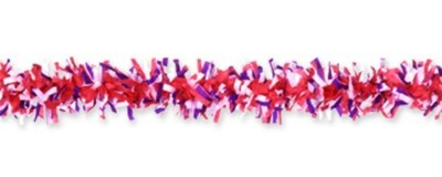 TISSUE FESTOONING RED/WHITE/BLUE (24/CS) PARTY SUPPLIES