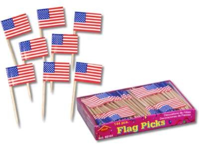 US FLAG PICK 50CT PARTY SUPPLIES