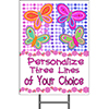 BUTTERFLY YARD SIGN PARTY SUPPLIES