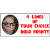 BOLD PHOTO BANNER (18X40 IN.) PARTY SUPPLIES