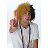 SPIRIT WIGS GOLD/BLACK PARTY SUPPLIES
