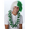 SPIRIT WIG GREEN/WHITE PARTY SUPPLIES