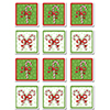 CANDY CANE COASTERS PARTY SUPPLIES