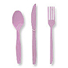 LAVENDER CUTLERY COMBO PACK (24CT) PARTY SUPPLIES
