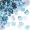 LT BLUE SWIRL CONFETTI (12/CS) PARTY SUPPLIES