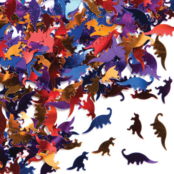 Click for larger picture of DINOSAURS CONFETTI PARTY SUPPLIES