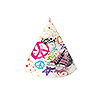 DISCONTINUED GIRLS ROCK 80'S PARTY HATS PARTY SUPPLIES