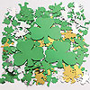 DISCONTINUED SHAMROCK OVERSIZE CONFETTI PARTY SUPPLIES