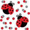 LADYBUG FANCY CONFETTI PARTY SUPPLIES