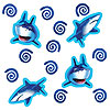 SHARK SPLASH CONFETTI PARTY SUPPLIES