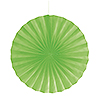 LIME 16 IN. FANS (12/CS) PARTY SUPPLIES