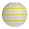 DISCONTINUED CHEVRON LT YELLOW LANTERN PARTY SUPPLIES