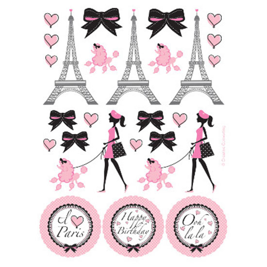 PARTY IN PARIS STICKER PARTY SUPPLIES