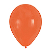 ORANGE LATEX BALLOONS (180/CS) PARTY SUPPLIES