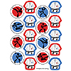 BLACK BELT KARATE BDAY STICKER PARTY SUPPLIES