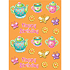 DISCONTINUED TEA FOR YOU! STICKER PARTY SUPPLIES