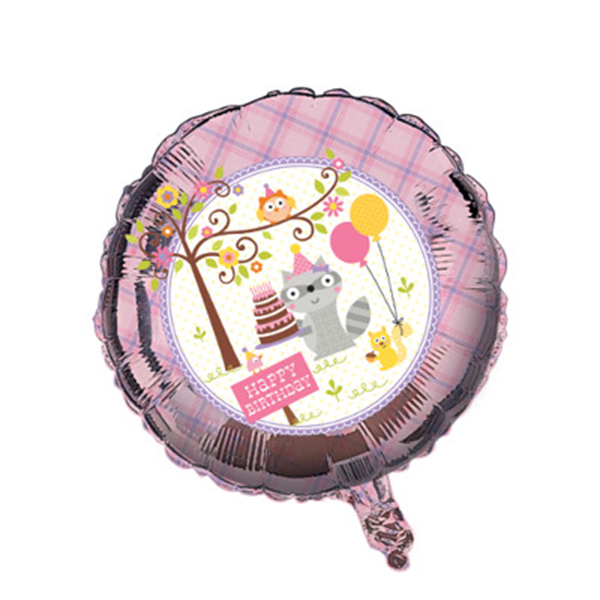 Click for larger picture of DISCONTINUED HAPPI WDLND GIRL BALLOON PARTY SUPPLIES