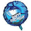SHARK SPLASH FOIL BALLOON BIRTHDAY PARTY SUPPLIES