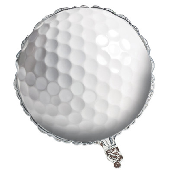 Click for larger picture of SPORTS FANATIC GOLF FOIL BALLOON PARTY SUPPLIES